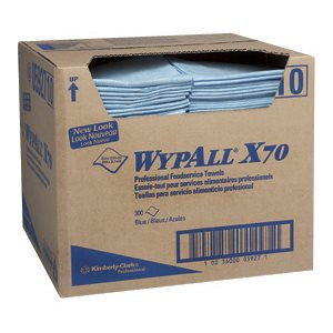 05927-3 CHIFFONS POUR SERVICE ALIMENTAIRE WYPALL X70