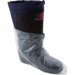 COUVRE-CHAUSSURE EN POLYÉTHYLÈNE : 1 SAC (25 PAIRES) RALSTON THE SAFETY ZONE